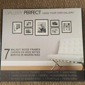 Nielsen Bainbridge Walnut Wood Frame Gallery Set